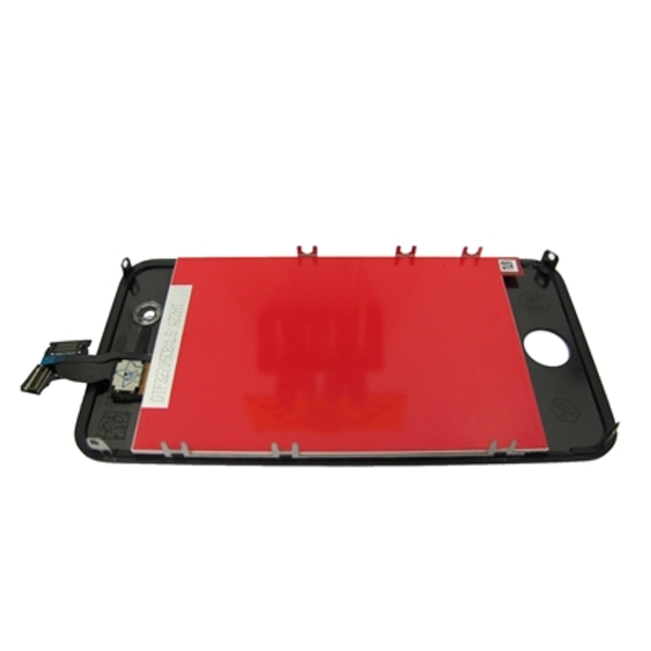 Economy iPhone 4 Compatible Screen Assembly Kit Black Original LCD Original Touch Copy Glass