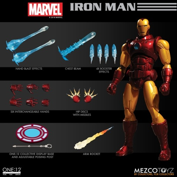 Iron Man (One:12 Collective) Mezco Action Figure