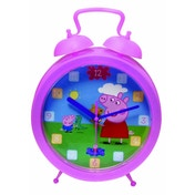 Ex-Display Peppa Pig Clock Used - Like New