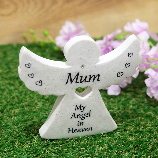 Mum Thoughts Of You Graveside Angel