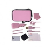 Crown Deluxe 12-in-1 Accessory Pack Pink 3DS