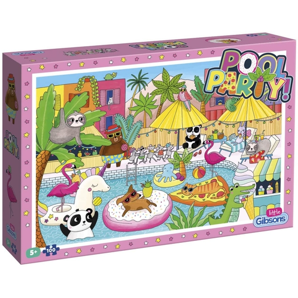 Pool Party Jigsaw Puzzle - 100 Pieces
