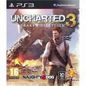 Uncharted 3 Drakes Deception Game PS3