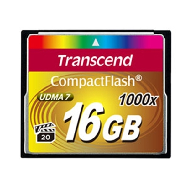 Transcend 16GB 1066x Compact Flash Card