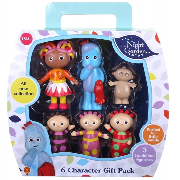 Ex-Display In the Night Garden 6 Figurine Gift Pack Used - Like New