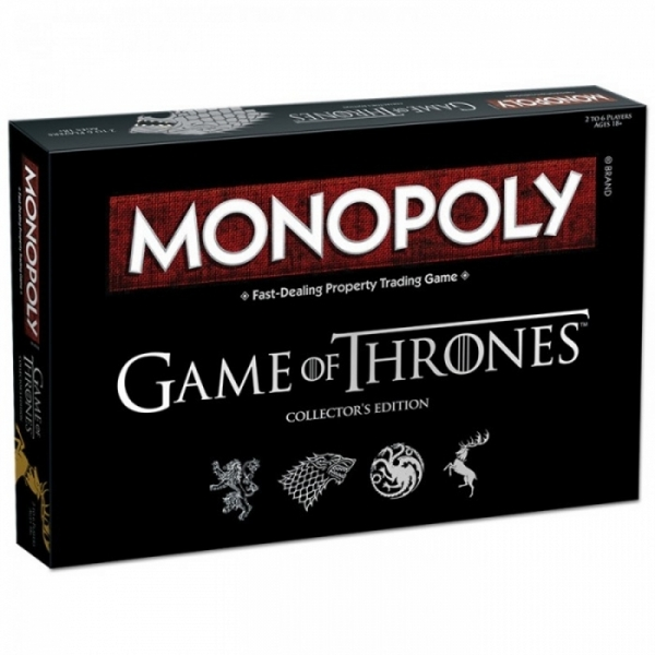 Ex-Display Game Of Thrones Monopoly Collector's Edition