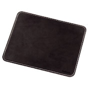 Hama Mouse Pad with Leather Look, brown