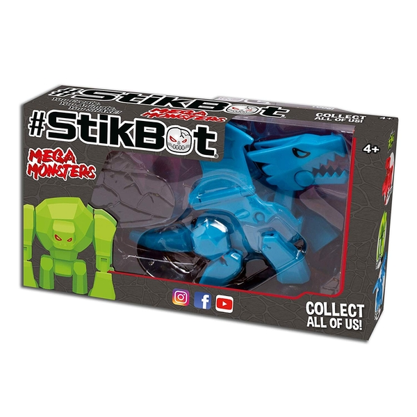 StikBot Mega Monster - Scorch - Image 1