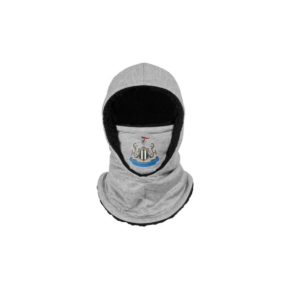 Newcastle United FC Hooded Snood Grey Youths