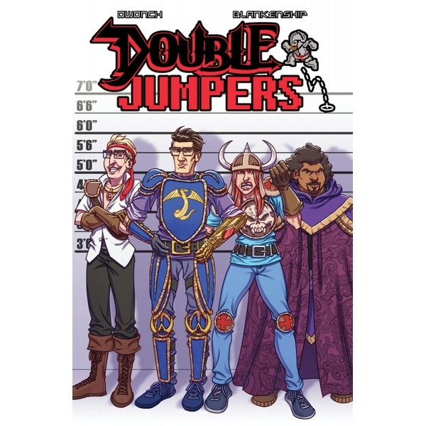 Double Jumpers Volume 1 Danger Zone Paperback
