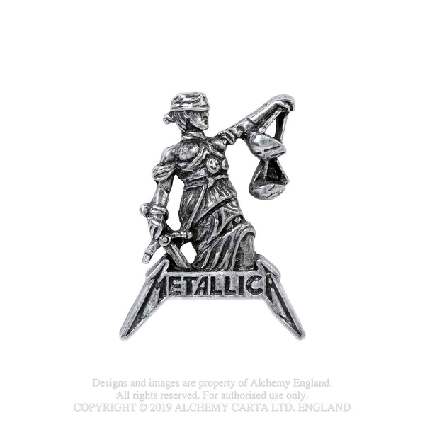 Metallica - Justice For All Pin Badge