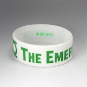 Green Lantern - Thick Emarld Warrior Bracelet