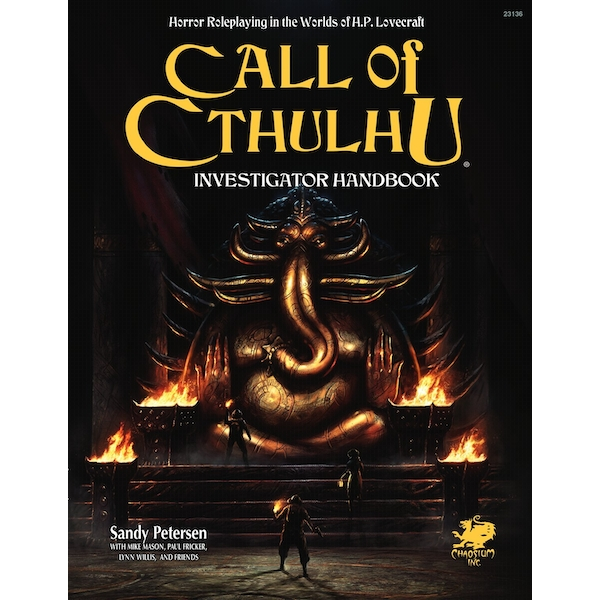 Call of Cthulhu 7th Edition Investigator's Handbook Hardbook