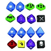 Warhammer Fantasy Role Playing FRP Extra Dice Set