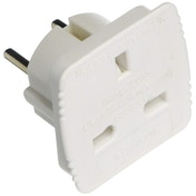 Value Range UKTOEU Travel Adaptor UK plug to Europe (Carded)