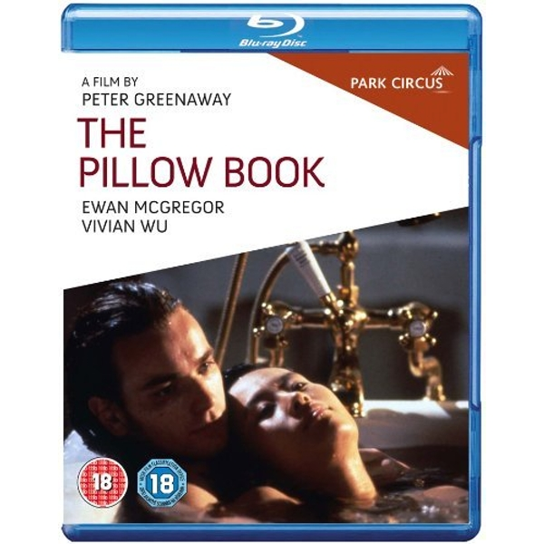 The Pillow Book 2011 Blu-Ray