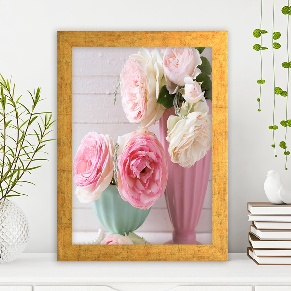 AC3035083345 Multicolor Decorative Framed MDF Painting