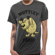 Wacky Races - Muttley Crew Men's Large T-Shirt - Grey