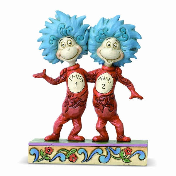 Thing 1 and Thing 2 (The Cat In The Hat) Figurine