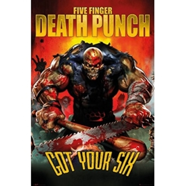 Five Finger Death Punch * Got Your Six Maxi Poster