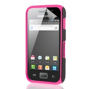 YouSave Accessories Samsung Galaxy Ace S5830 Dual Hybrid Case - Hot Pink