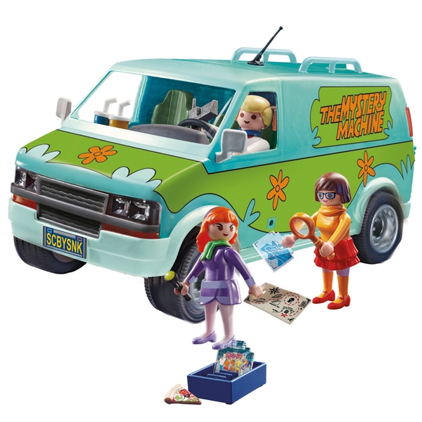 Image of Playmobil - SCOOBY-DOO!© Mystery Machine Toy Playset
