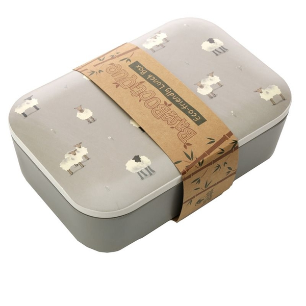 Bamboo Composite Willow Farm Sheep Lunch Box