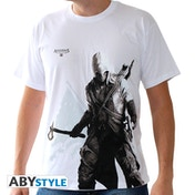 Assassin's Creed - Connor Stand Up Men's X-Large T-Shirt - White
