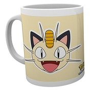 Pokemon Meowth Face Mug