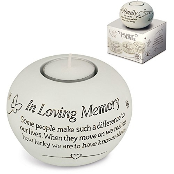 Said With Sentiment 7316 Sentiment Tealight In Loving Memory