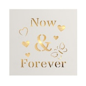 Now & Forever Light Up Plaque