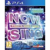 Now That's What I Call Music Sing Solus PS4 Game