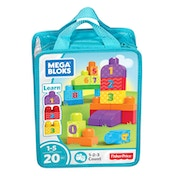 Mega Bloks Preschool Build N Learn Bag
