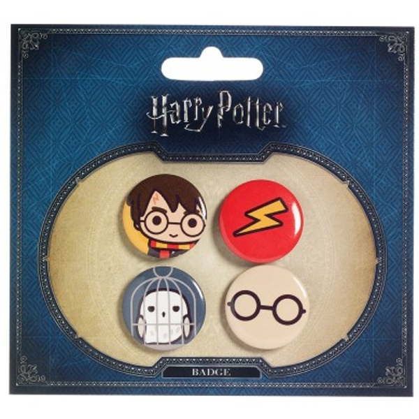 Harry Potter Cutie Button Badge Set 1