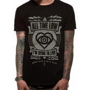 All Time Low - Dying To Live Unisex X-Large T-Shirt - Black