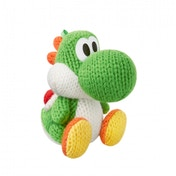 Green Yarn Yoshi Amiibo (Yoshi's Woolly World) for Nintendo Wii U & 3DS