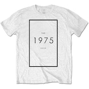The 1975 - Original Logo Men's Medium T-Shirt - White