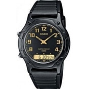 Casio AW49H-1BV Men's Dual Time Watch Black
