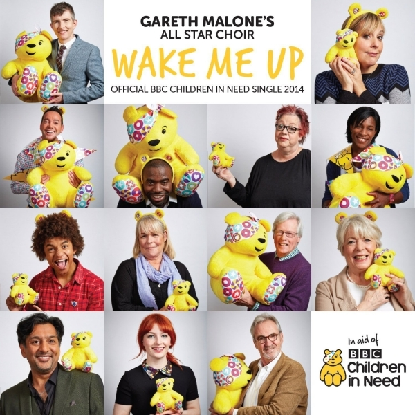 Gareth Malone's All Star Choir - Wake Me Up - Official BBC Children In Need Single 2014 CD