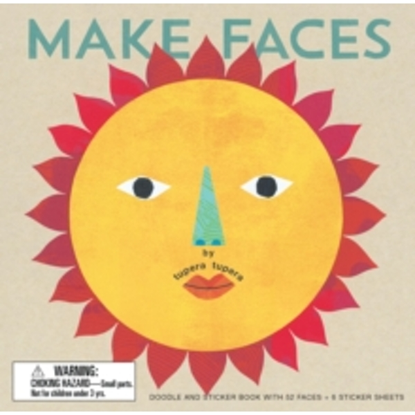 Make Faces : Doodle and Sticker Book with 52 Faces + 6 Sticker Sheets