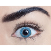 Sapphire Blue 1 Day Natural Coloured Contact Lenses (MesmerEyez)