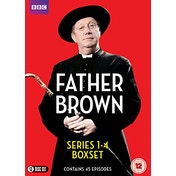 Father Brown Series 1-4 DVD