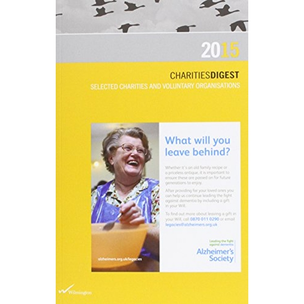 CHARITIES DIGEST 2015  Paperback 2014