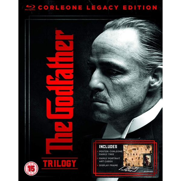The Godfather Trilogy - Corleone Legacy Edition Blu-ray