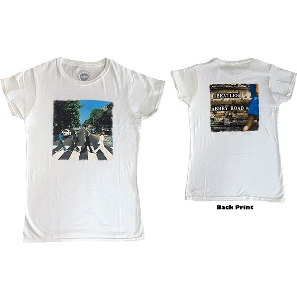 The Beatles - Abbey Road Ladies XX-Large T-Shirt - White