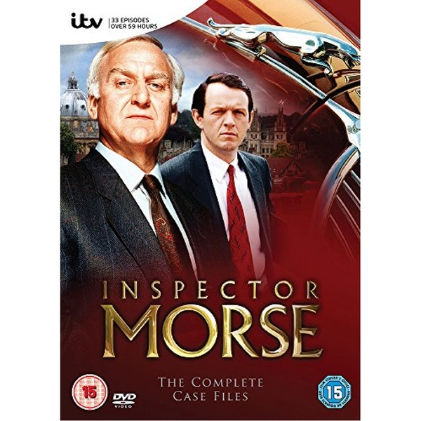 Inspector Morse: The Complete Series 1-12 DVD