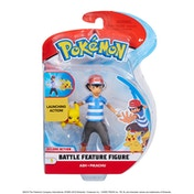 Pokemon 5 Inch Battle Figure Pack -  Ash And Pikachu