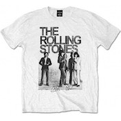 Rolling Stones Est 1962 Group White Mens T Shirt: Large