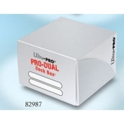 White Pro Dual Deck Box 90 Cards