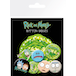 Rick and Morty Characters Badge Pack - Image 2
